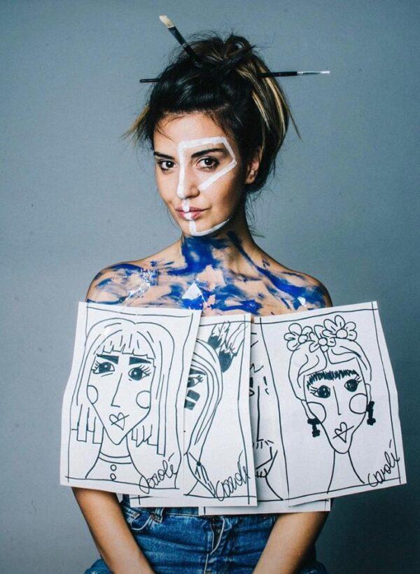 Caroli' Street Art al femminile